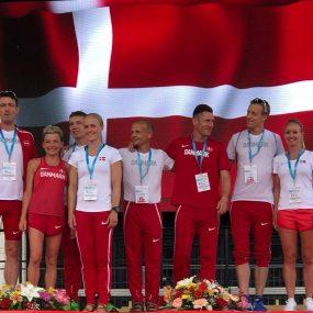 Jesper Kenn Olsen EM 24 2018 - sølvmedalje