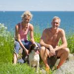 Jerk W. Langer og Louise Bruun