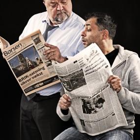 Flemming Jensen og Omar Marzouk