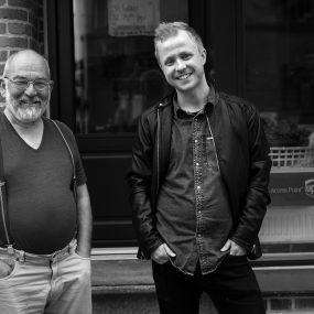 Jan Priiskorn Schmidt og Klaus Todsen
