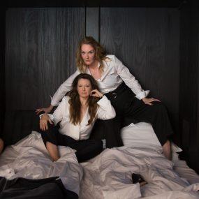Louise Mieritz og Ditte Hansen