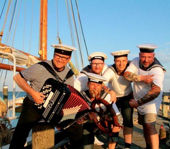 De lystige sømænd