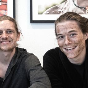 Simon Krag Christensen og Rasmus Nørgård